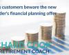 Lloyds customers beware the new Schroder's financial planning offer.