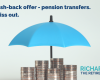 £500 Cash-back offer - pension transfers. Don't miss out.