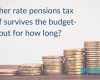 Higher rate pensions tax relief survives the budget- but for how long?