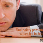 Final salary pension transfer values fall by 4% in Sept – don't delay!