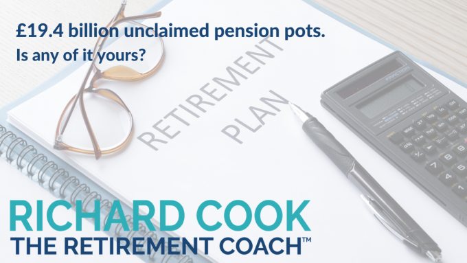 Unclaimed pension pots